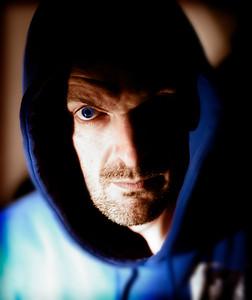 The Hood (Self-Portrait) 14th November 2011 Crespieres, France