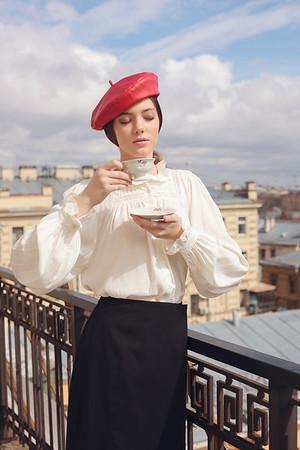 Ksenia. Saint Petersburg, 2018.