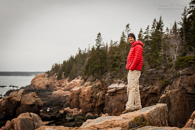 Vincent Lawrence of www.acadiaimages.com showing me some of his favorite places around Acadia National Park.