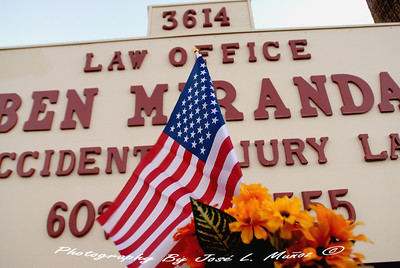 2013-11-16  Memorial for Ben Miranda at His Office