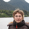 Tanya on a way to the Misty Fjords