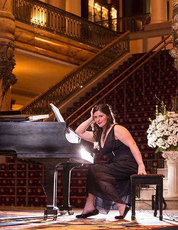 Beth Ann piano at The Jefferson Hotel