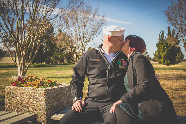 Bianca & Michael {Reenlistment ceremony}