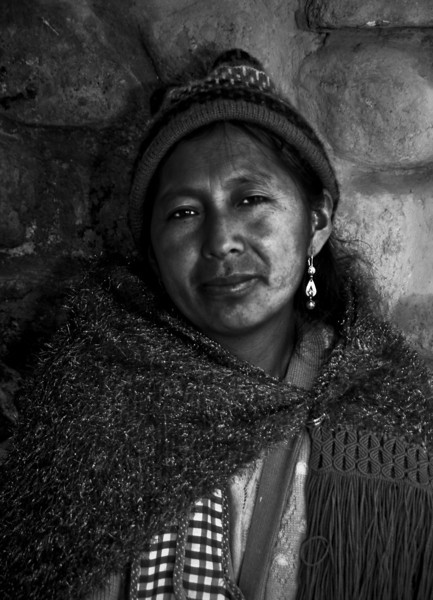 Widowed at the silver mines of Cerro Rico, Bolivia, 2010.