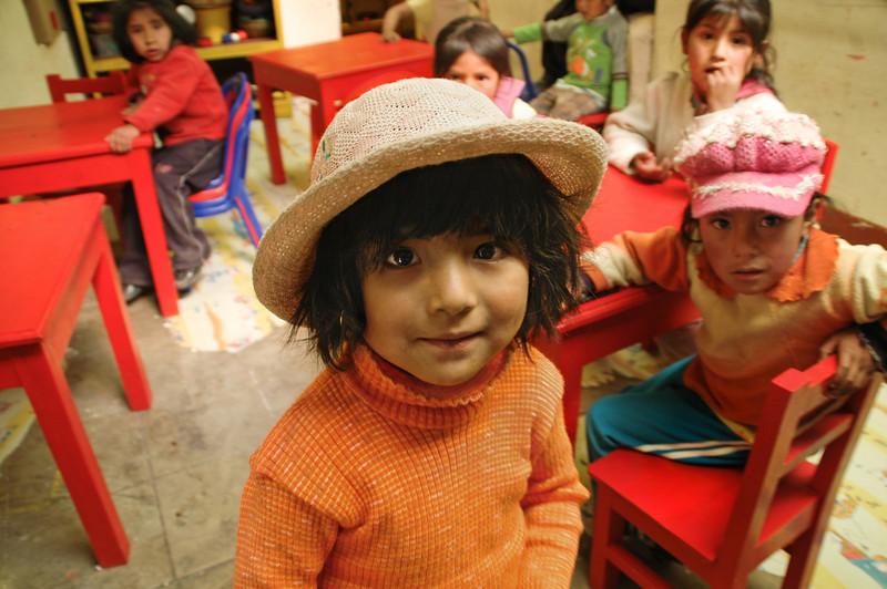 Orphans at the silver mines of Cerro Rico, Bolivia, 2010.