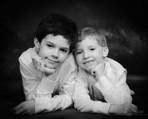 Boyer Boys portraits in Tuson
