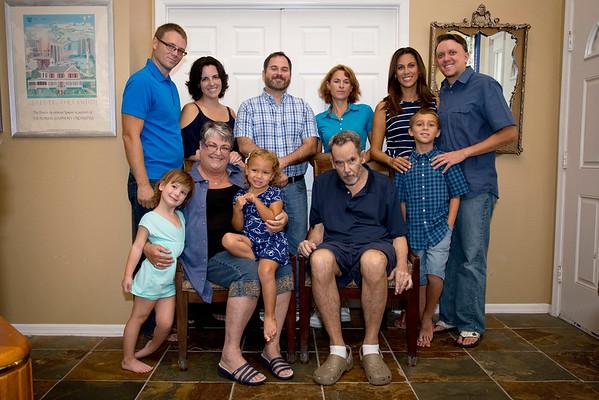 Bramlett-Lombard-Davenport Family Portraits