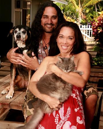 Brandi & Pete & Ohana