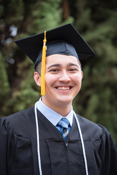 Brandon Odom Graduation Photos