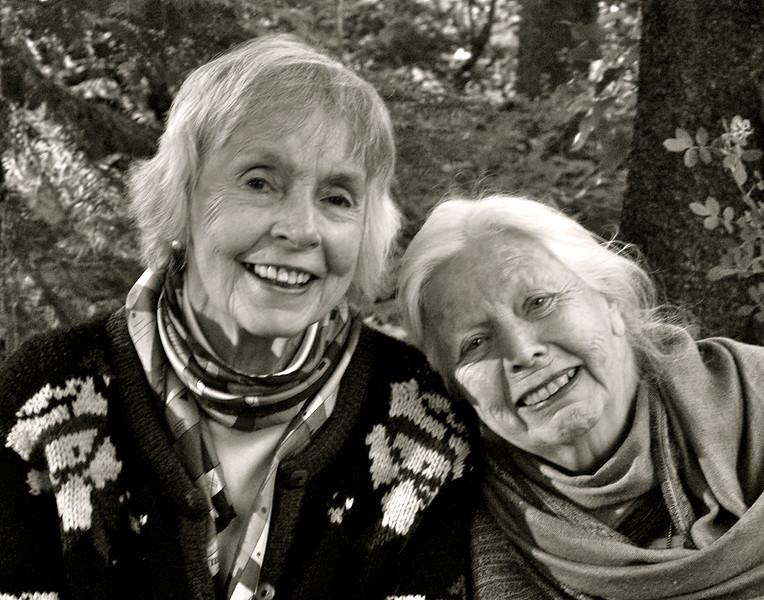 Edwina Leggett & Barbara Hall