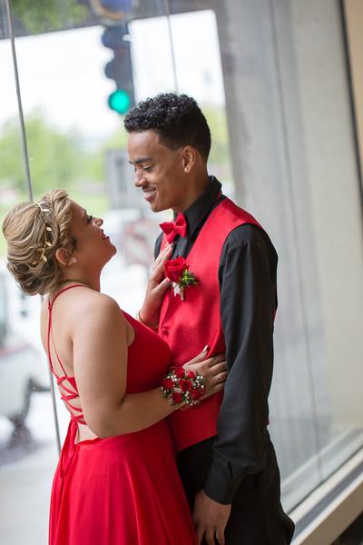 Brittney & Drew Prom '17
