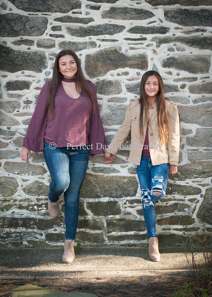 Brooke and Noelle - Fall Portraits
