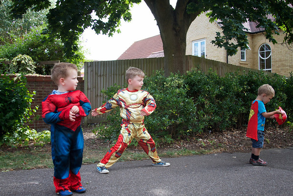 Cousins are heroes too