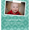 Back New Year's Card Option - everything is customizable.