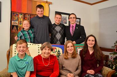 Phyllis with grandchildren - 3