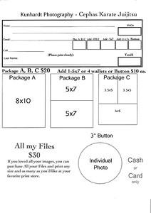 Order form - CKJ