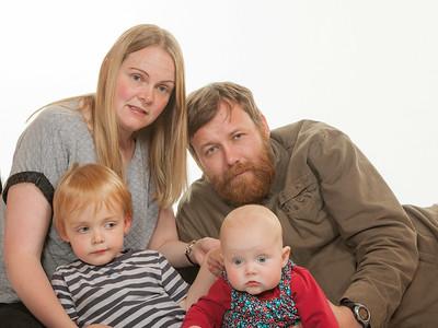 Caleb and family