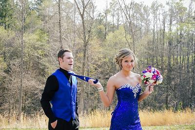 Camille & John. Prom
