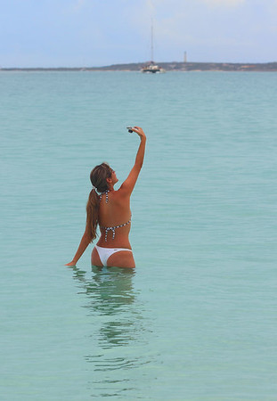 IMG#1365 Bathing Beauty self portrait-Aruba 2011