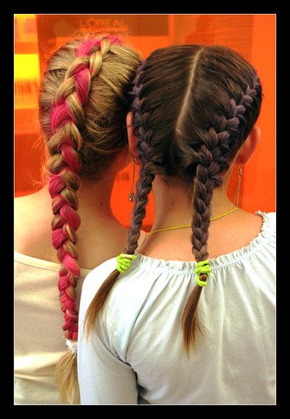At the hairstudio