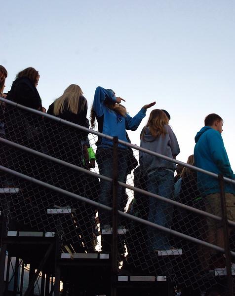 High School Football Game, Brookville, IN., 2014