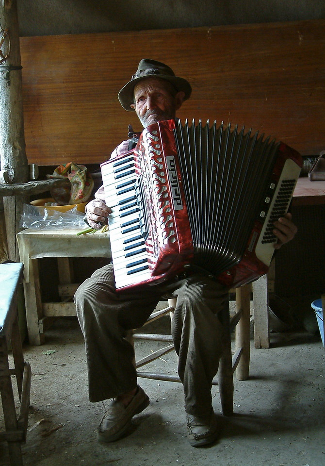 The musician from Capileira, Alpujarras, southern Spain
