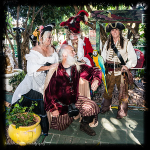 Captain Morgan and His Merry Band of Pirates