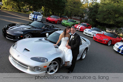 Car weddings.