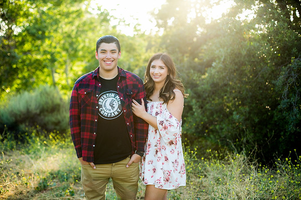 Karly and Sam senior