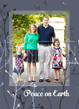 Sample of one of the many Christmas cards we could do. Contact Laura to order Christmas cards.