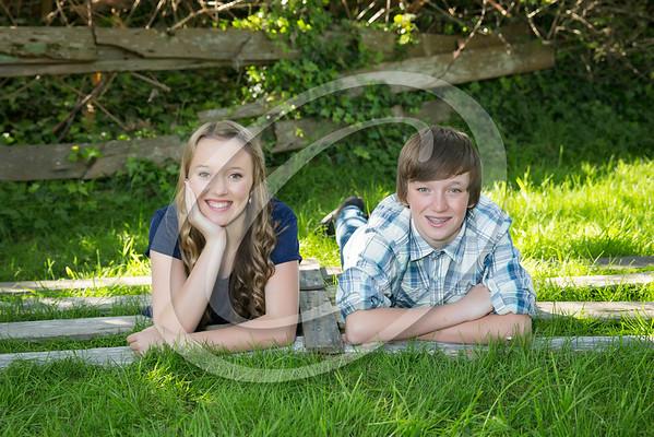 Caroline and Jackson 8th Grade 2015