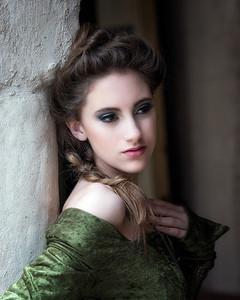 Alice Lockwood model, Johanna Bubela MUA