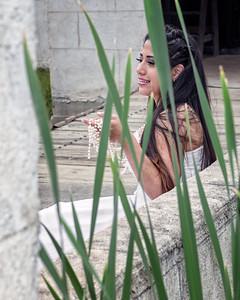 Ana Quiros model, Johanna Bubela MUA
