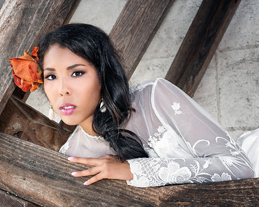 Crystal Jackson model, Nikki Lea MUA