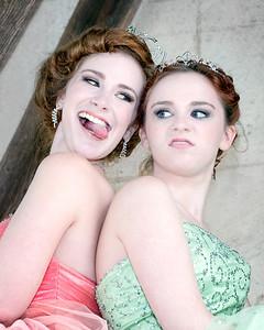 Miranda Fox and Tabitha Fox - models, Johanna Bubela MUA