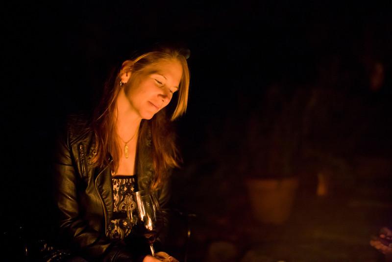 Serena Smith at Morris House garden