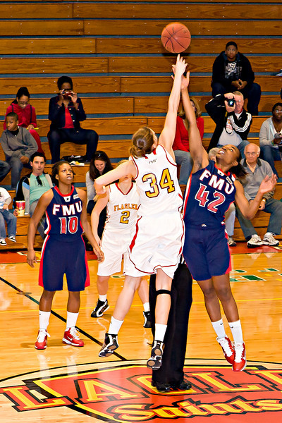 Adrienne Donelson - jumpball