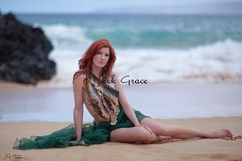 Shoot with Catherine Loyer at Makena Cove in Kihei, Hawaii on 6/13/2011.