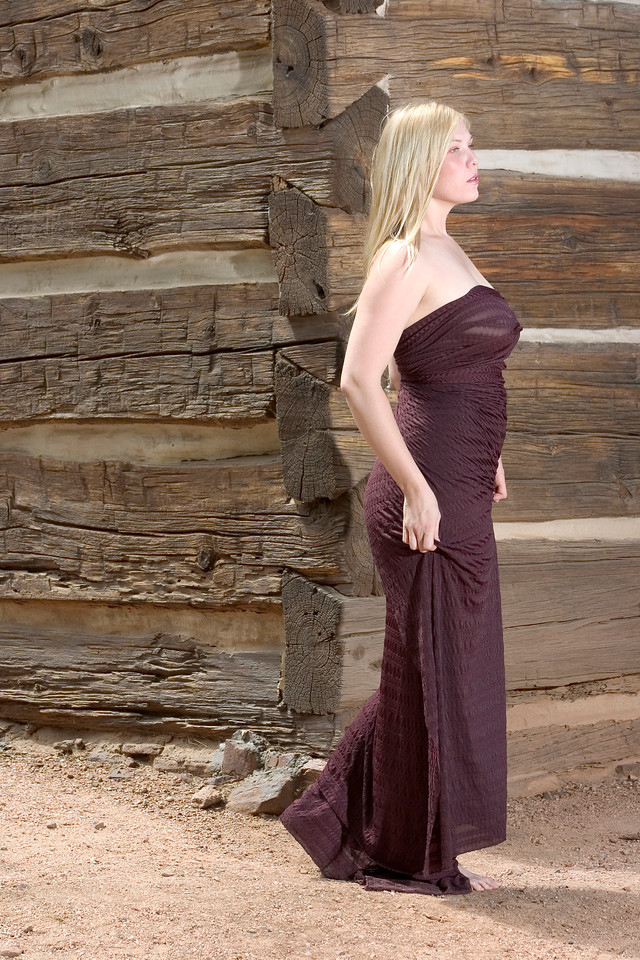 Portrait and modeling photography shoot for Catherine Everheart in Payson, Arizona.