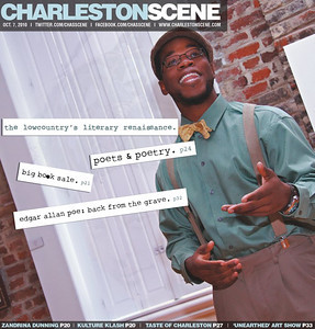 My second cover image for the Post and Courier Charleston Scene..the story was about poets and poetry in the lowcountry...lots of great artists lots of great people... was a joy to meet and photograph!!!