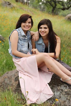 Cheyanne and Kristen