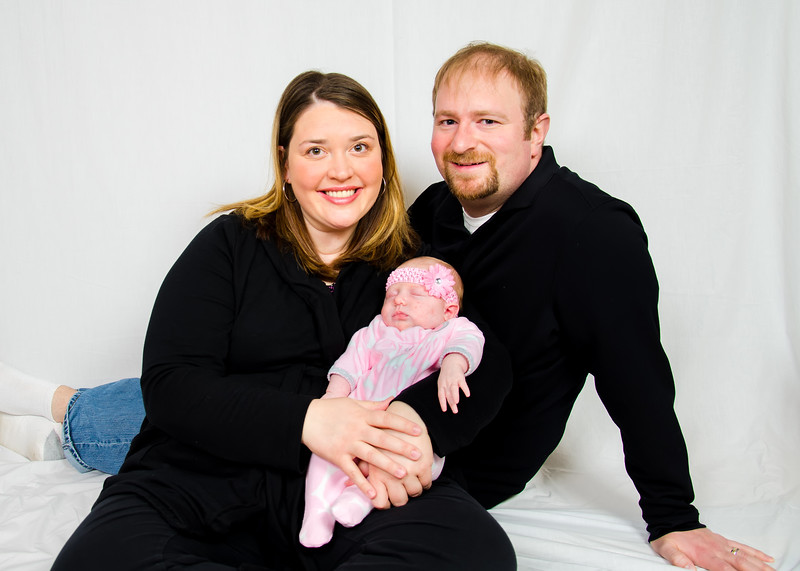 Family Portrait with Newborn