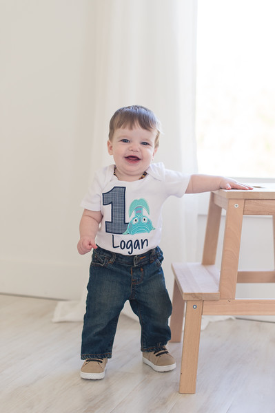 Logan K One Year