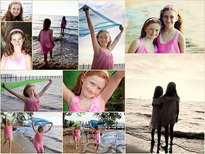 Beach Collage 24x18 - 10 images