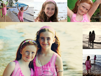 Beach Collage 24x18 - 6 images