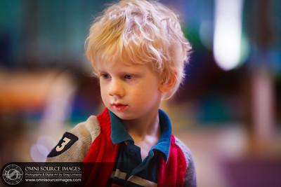 Child Portrait. Candid example of Nursery School volunteer work.