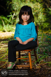 Pre-School Child Portrait. Example of Nursery School volunteer work.