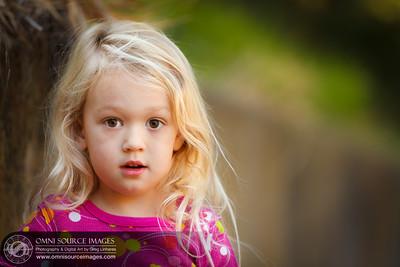 Child Portrait. Candid example of Nursery School volunteer work.