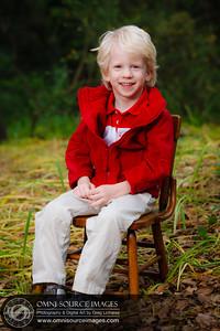 Pre-School Child Portrait. Example of Nursery School volunteer work.