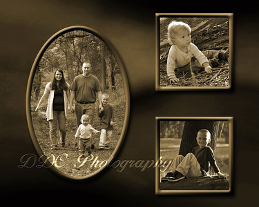 3-photo collage-sample3 - 8x10 or 11x14 sizes only - available at collage print prices